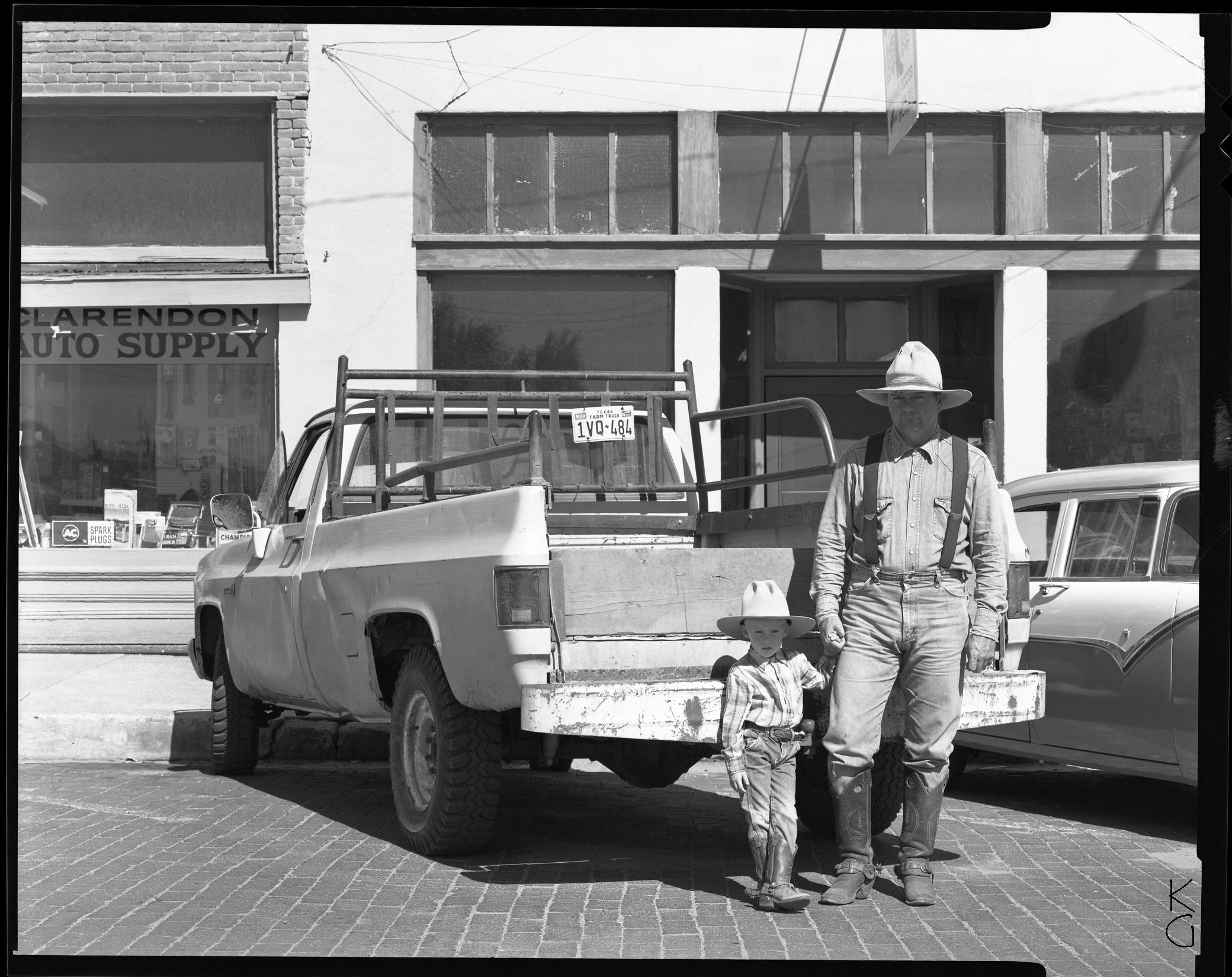 Robbi and Son, The Panhandle 1987