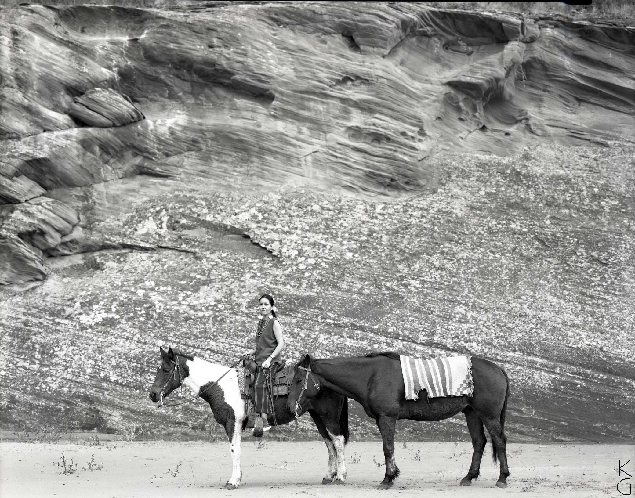 Vanessa Brown (Sioux/Navajo), Canyon de Chelly