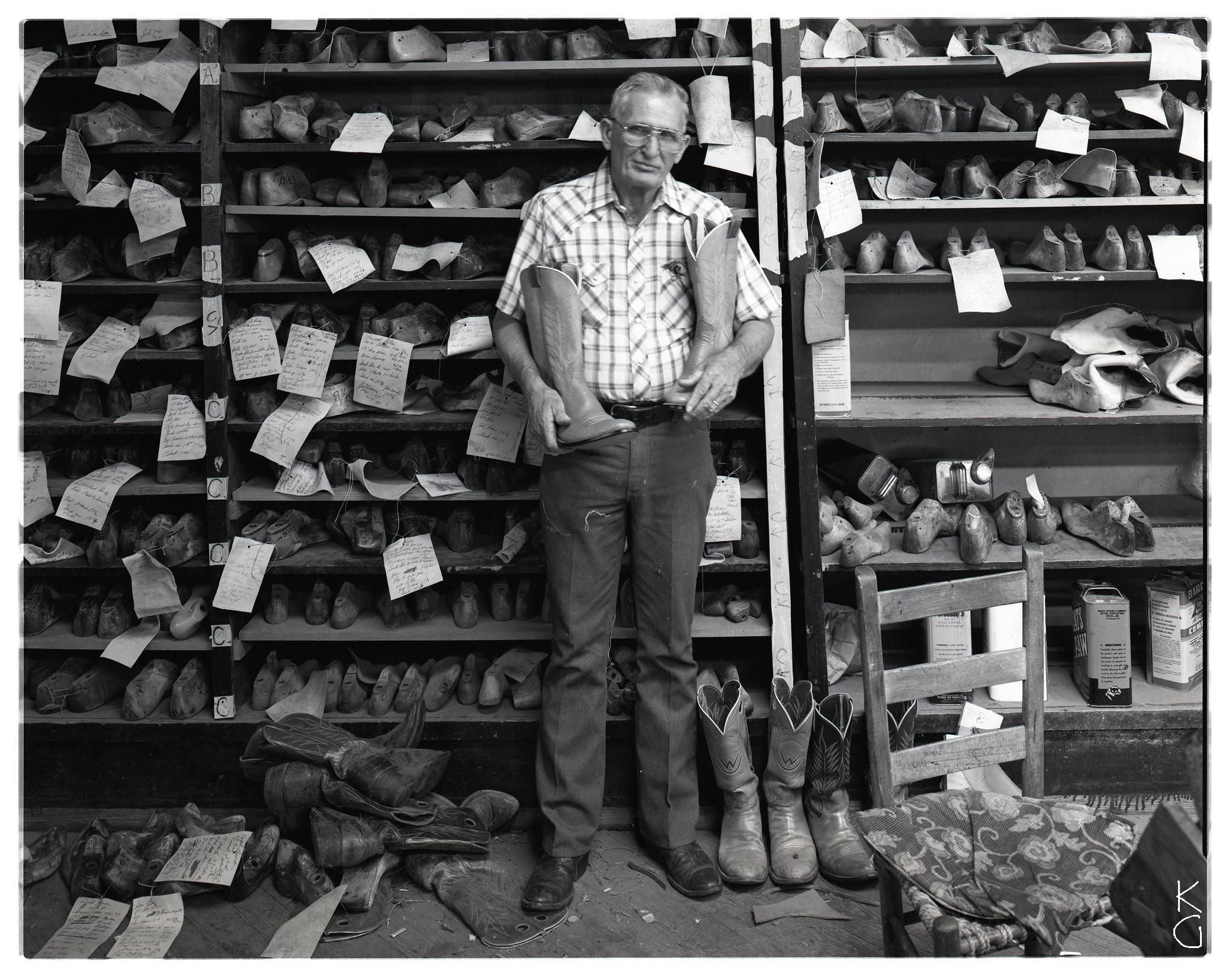 James Owen, Bootmaker, The Panhandle 1987
