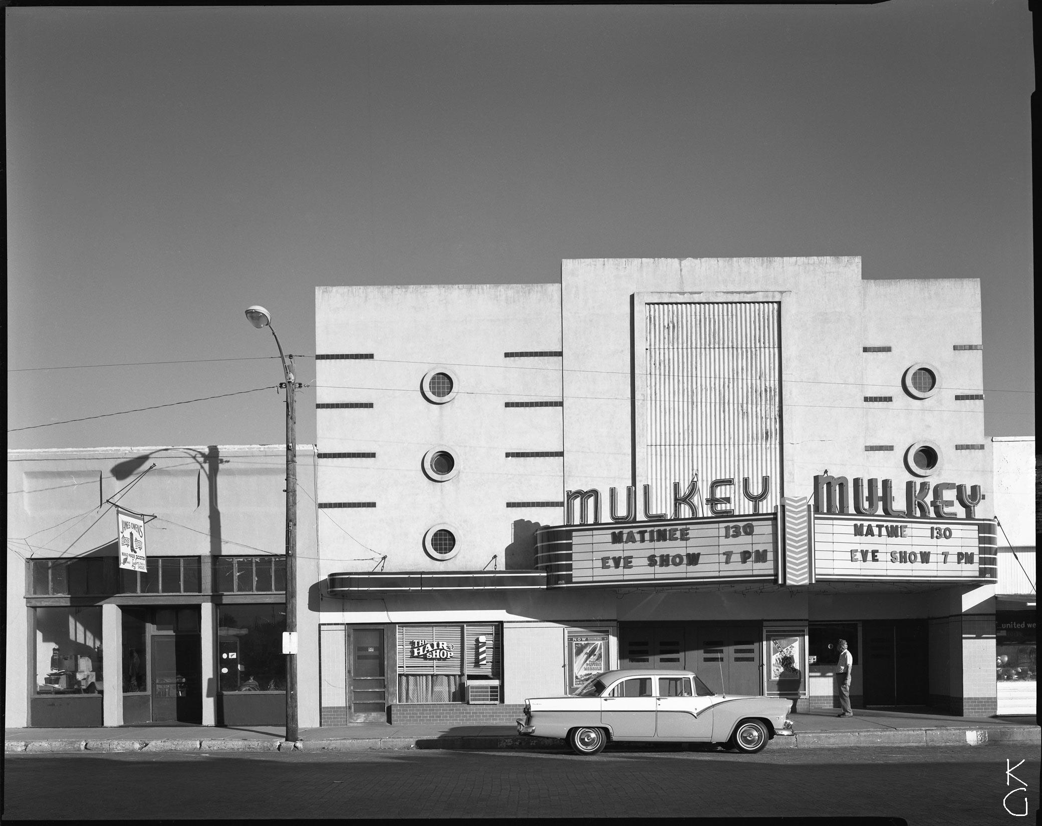 Mulkey Cinema, The Panhandle 1987