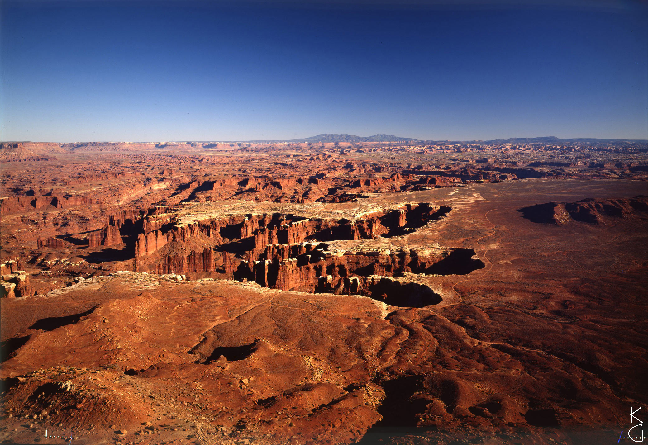 Dinosaur's Footprint, near Moab