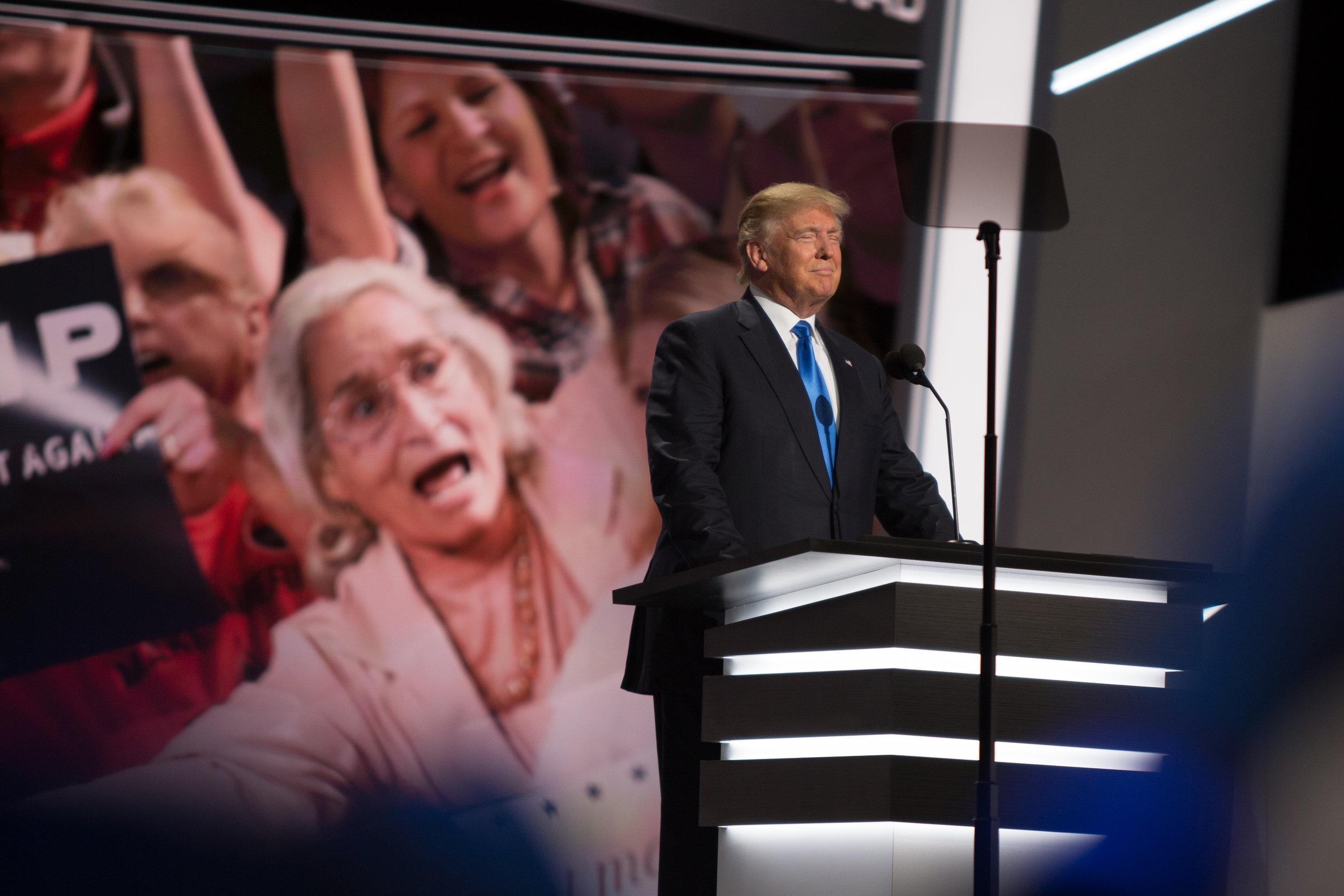 Donald J. Trump Addresses The RNC