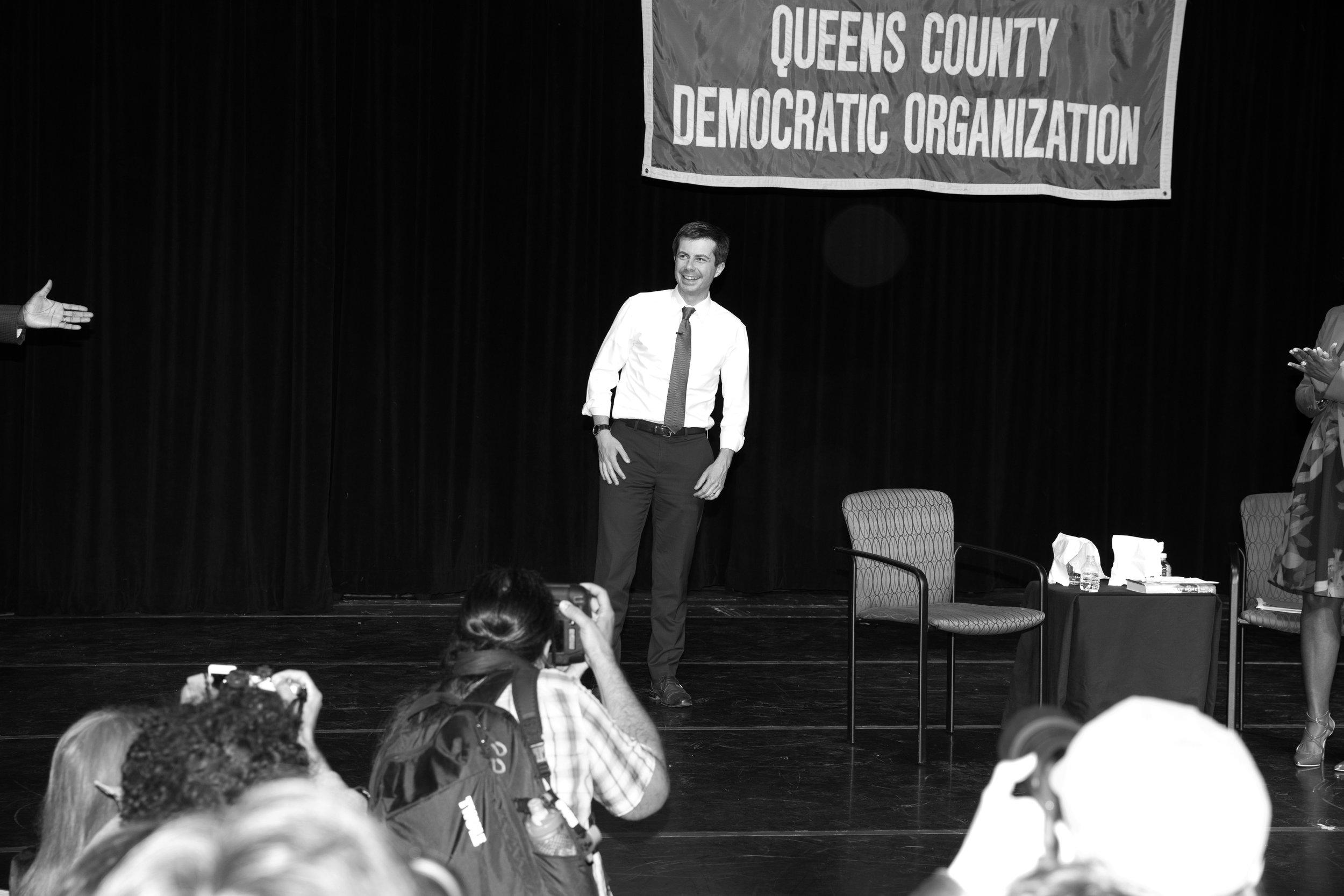 2020 Democratic Presidential Candidate Pete Buttigieg