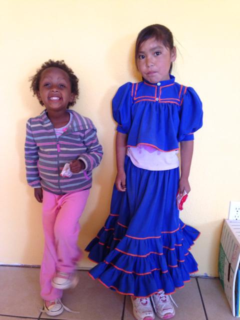 Sandra y Antu