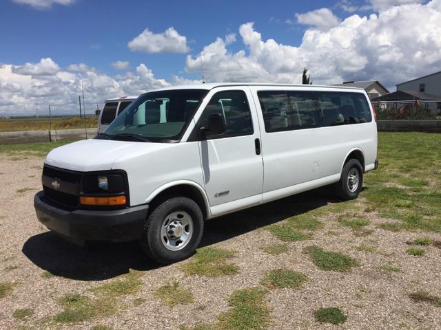 Our new van, Rhonda!