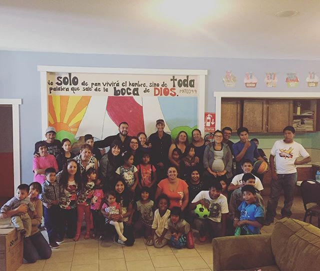 "A church from another town  came and richly blessed our kids for ""día de los niños."" Lots of candy, soccer, piñatas, presents, singing and dancing. Muchísimo gracias!"