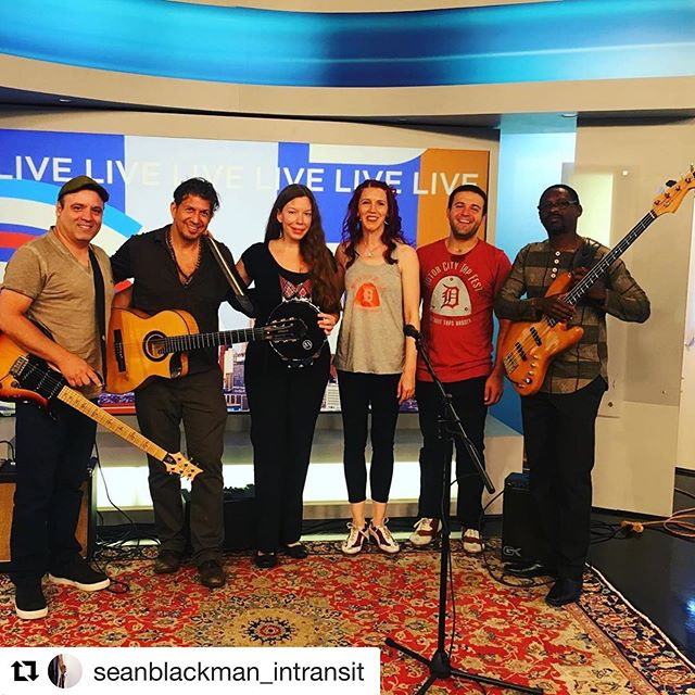Had an awesome time performing with @denisecaston and @seanblackman_intransit on NBC Local 4 this morning! What a great way to kick off the Motor City Tap Festival! @motorcitytapfest #motorcitytapfestival #detroit #motorcitysoles #tap #dance #tapdance #nbc #nbclocal4 #michigan #mi