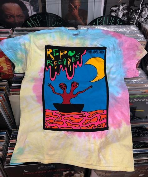 NEW TIE DYE REPO TEES! - We have a limited run of tie dye tees in two different styles for in store purchase only