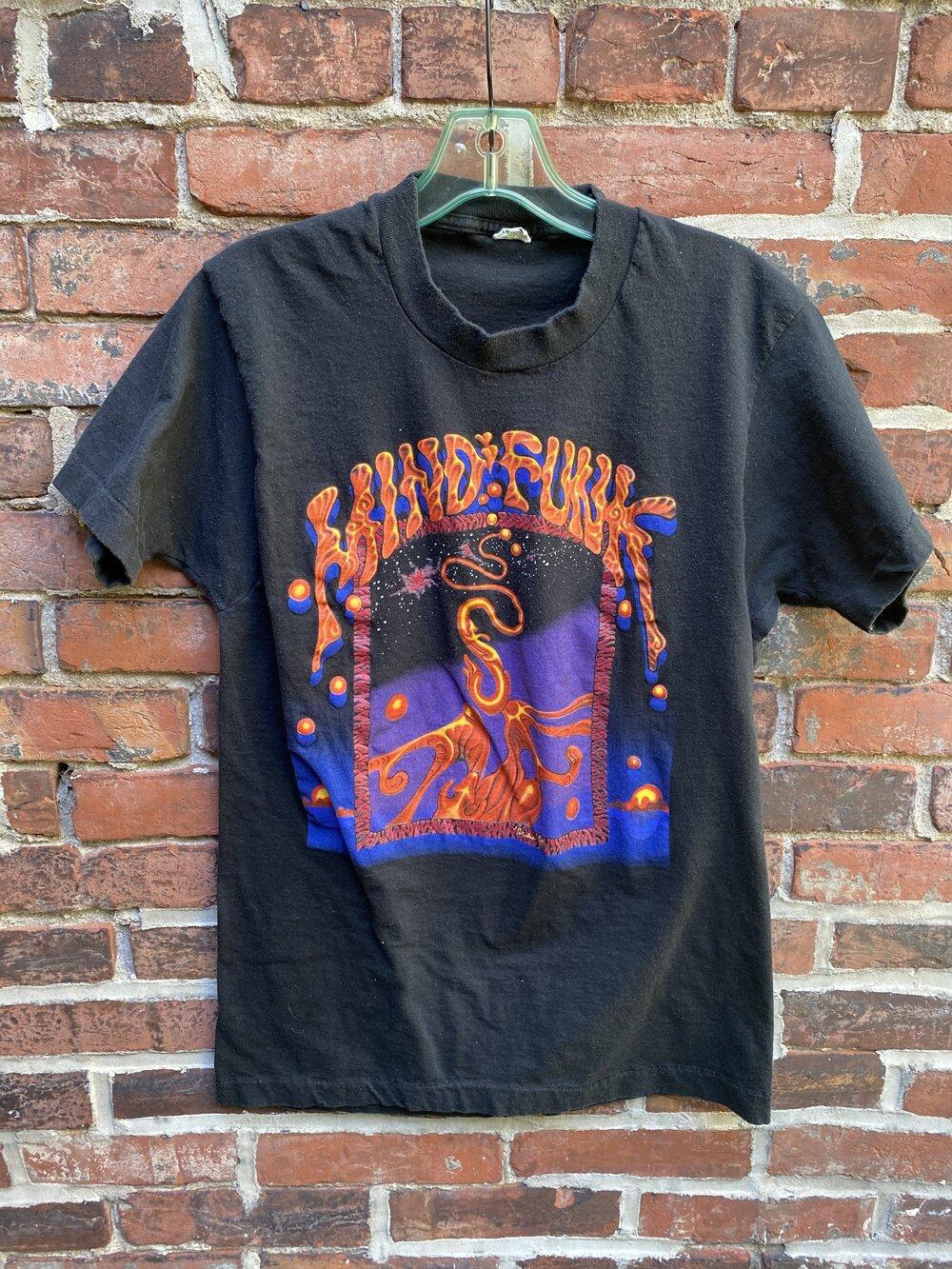Vintage 90\u2019s Suede psycho album tshirt tee brit poo