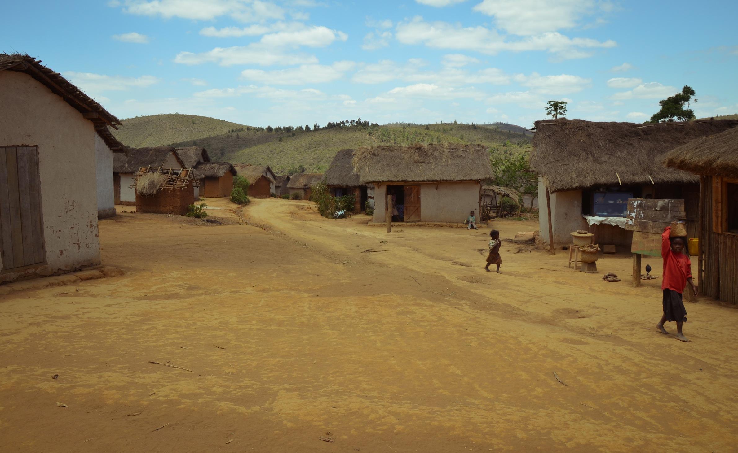 Arrival at the village. Photo: Alizé Carrère