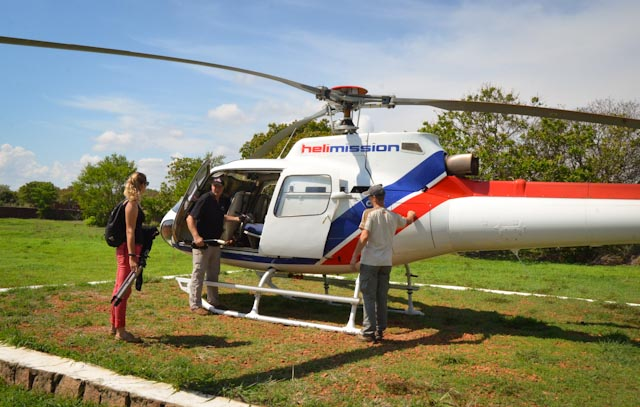 Prepping for departure from Mandritsara back to Tana on Friday morning