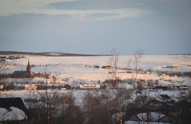 The Sámi town of Kautokeino, northern Norway. Photo: Alizé Carrère