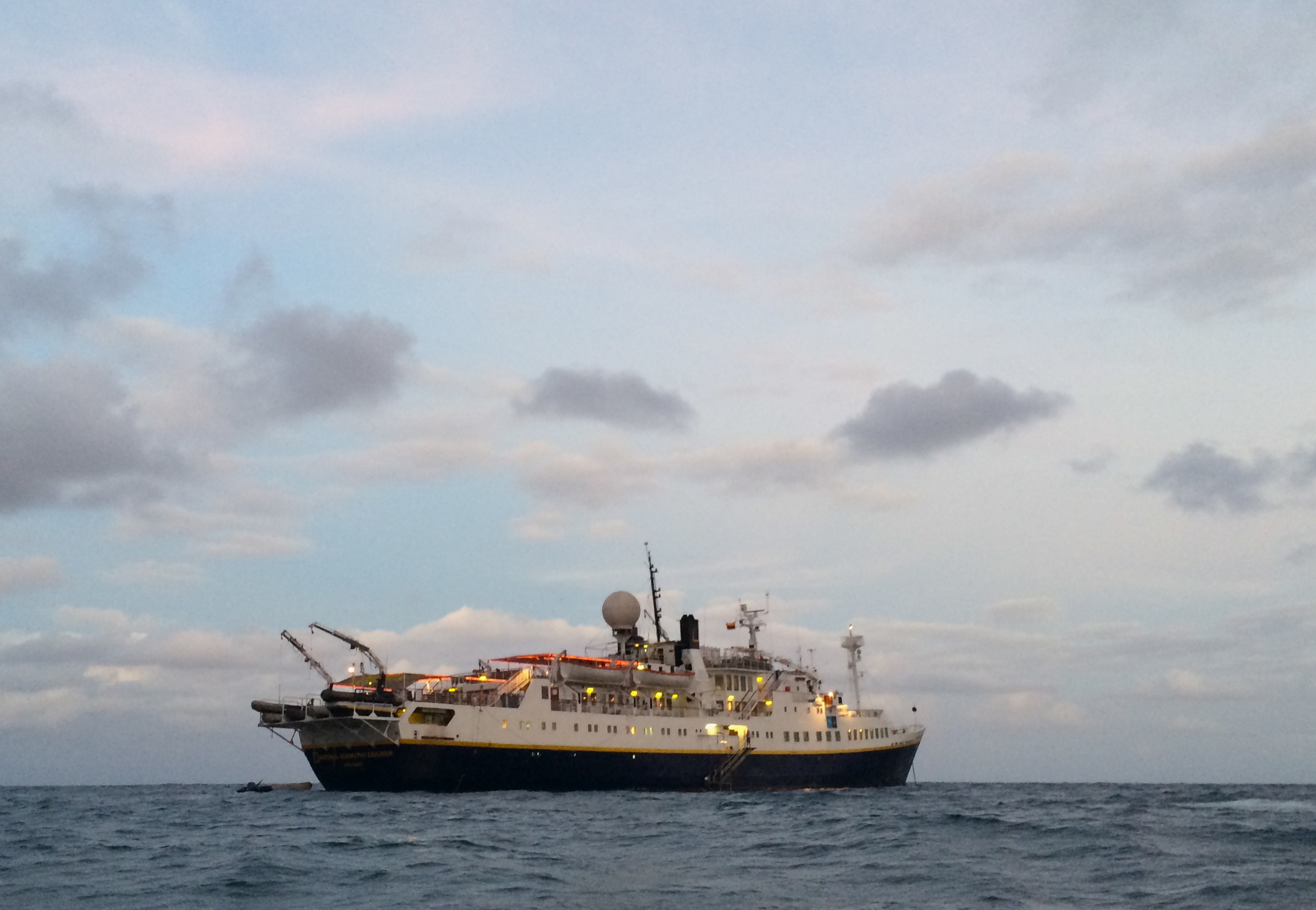 National Geographic Endeavour (Photograph by Alizé Carrère)