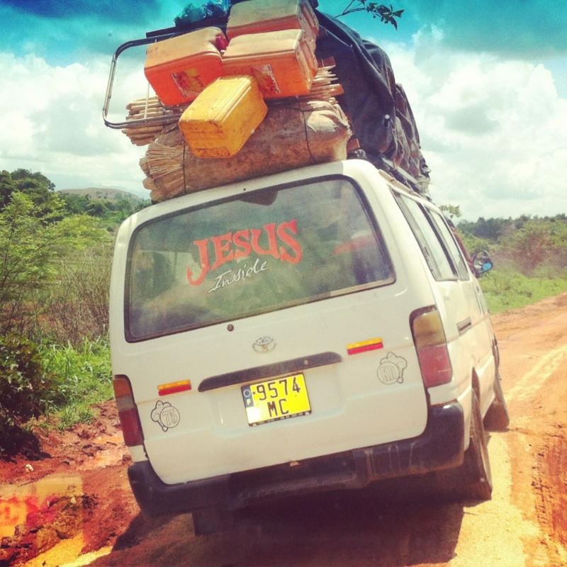Taxi-brousses, or 'bush taxis', are the common form of public transportation in Madagascar. Photo Alizé Carrère