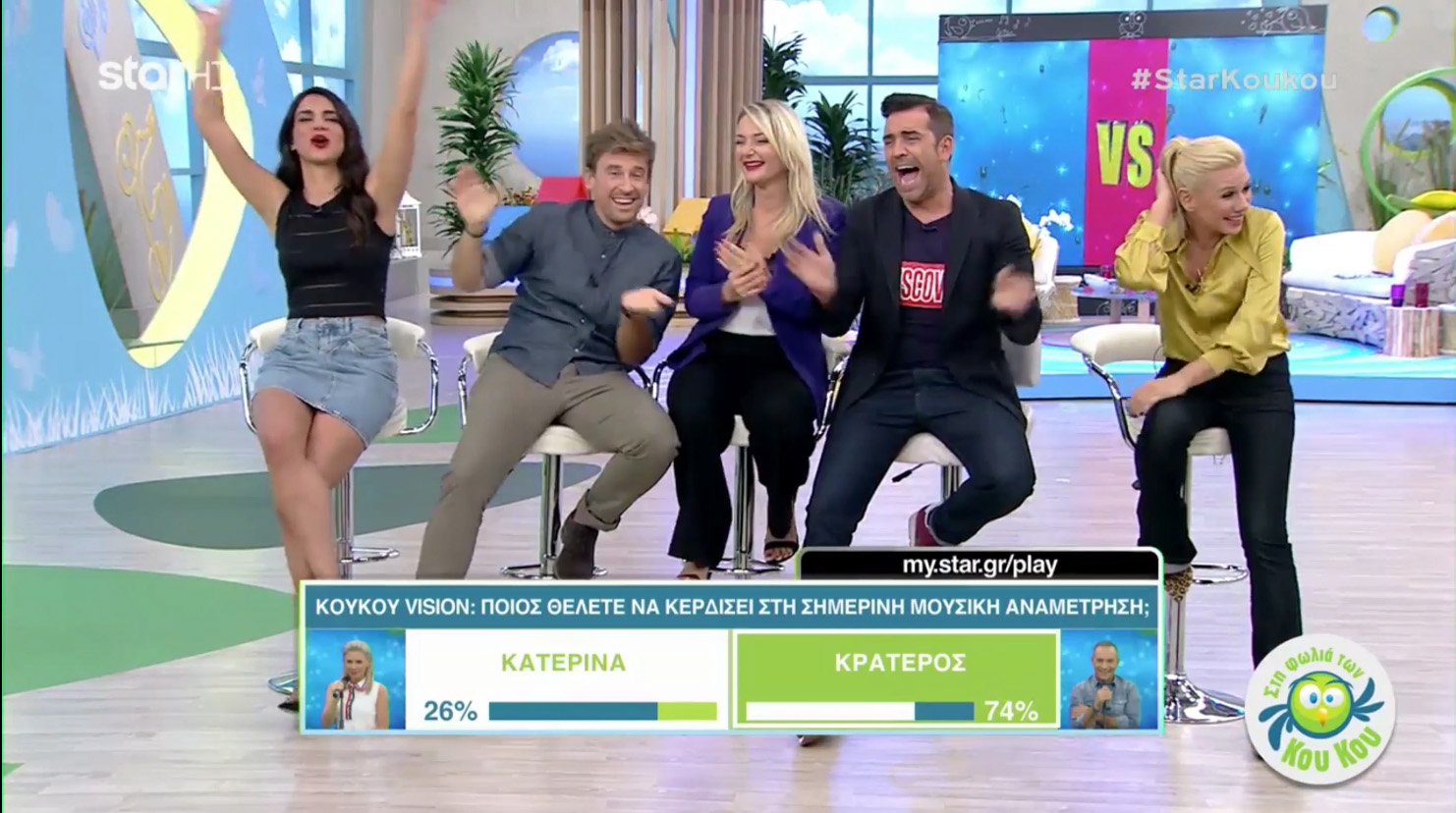 Megaphone TV Makes Greek Debut on Star Channel's KouKou