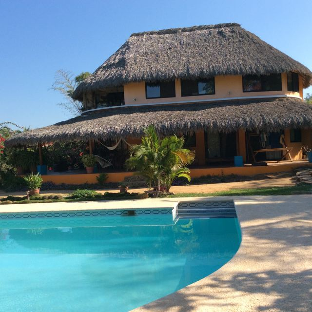 Dexter's Terry Gusto's view from his mexico house