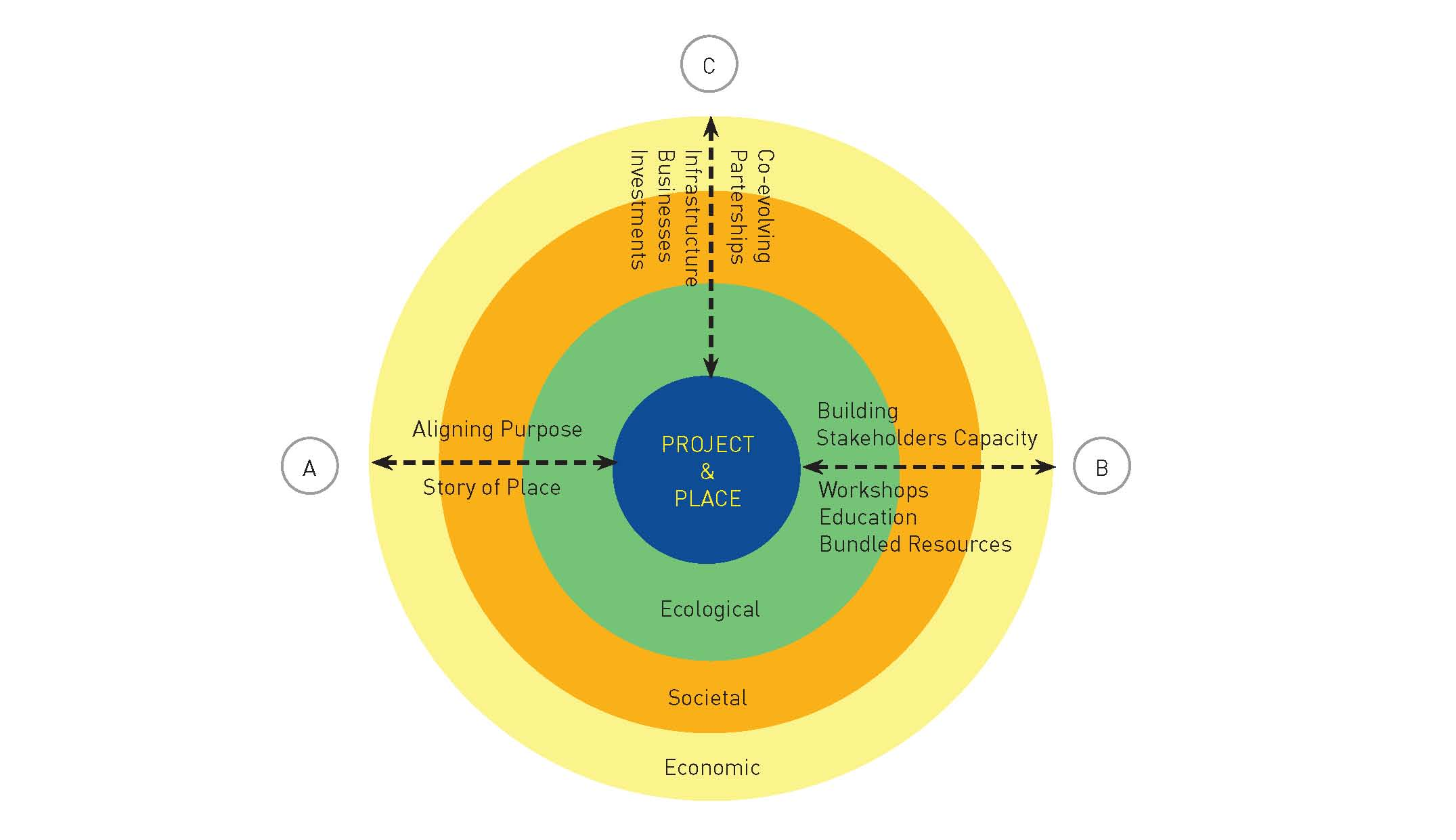 ABC Framework of Terra Cura Consulting -   Aligning Purpose, Building Capacity, Co-evolving Partnerships
