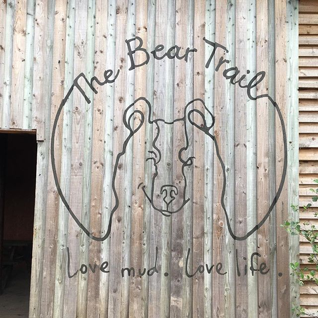 Not a bad motto to play by!!! @the_bear_trail #devon #britishholidays #summerliving