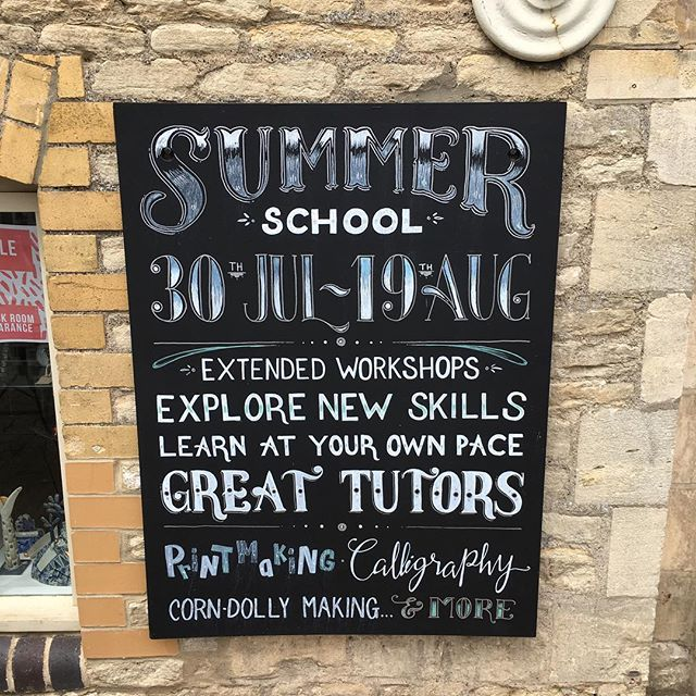 And the great line up on offer for Summer School. Get crafty this holiday! @newbreweryarts #craft #make #summerschool