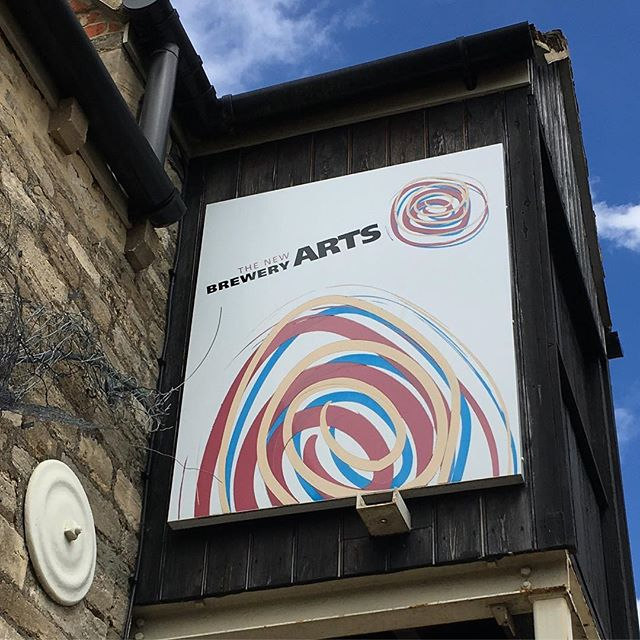 Just come across the wonderful New Brewery Arts in Cirencester. #artsengland #craft #cirencester @newbreweryarts