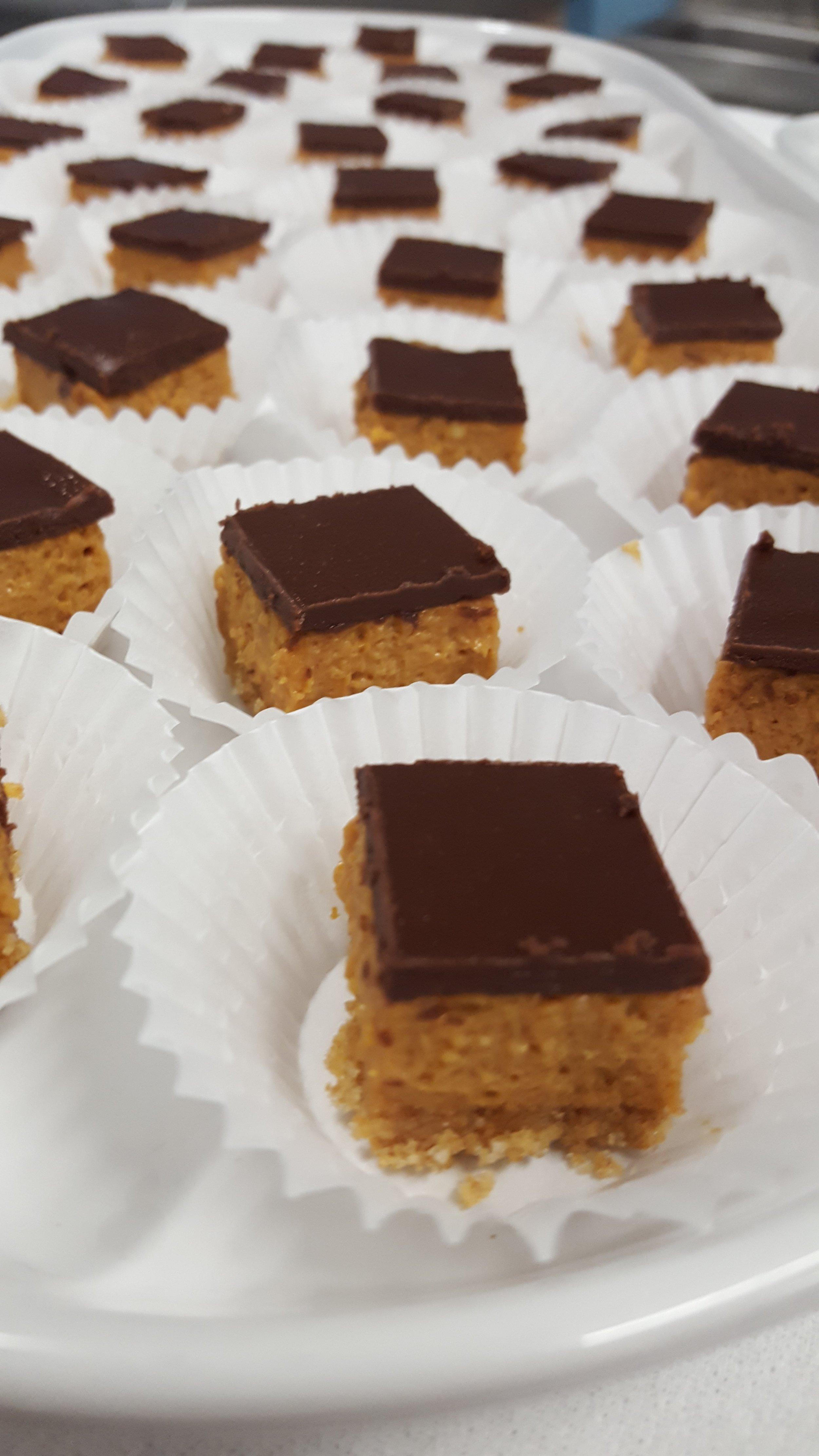 Dulce de Leche Bites w/Chocolate Ganache