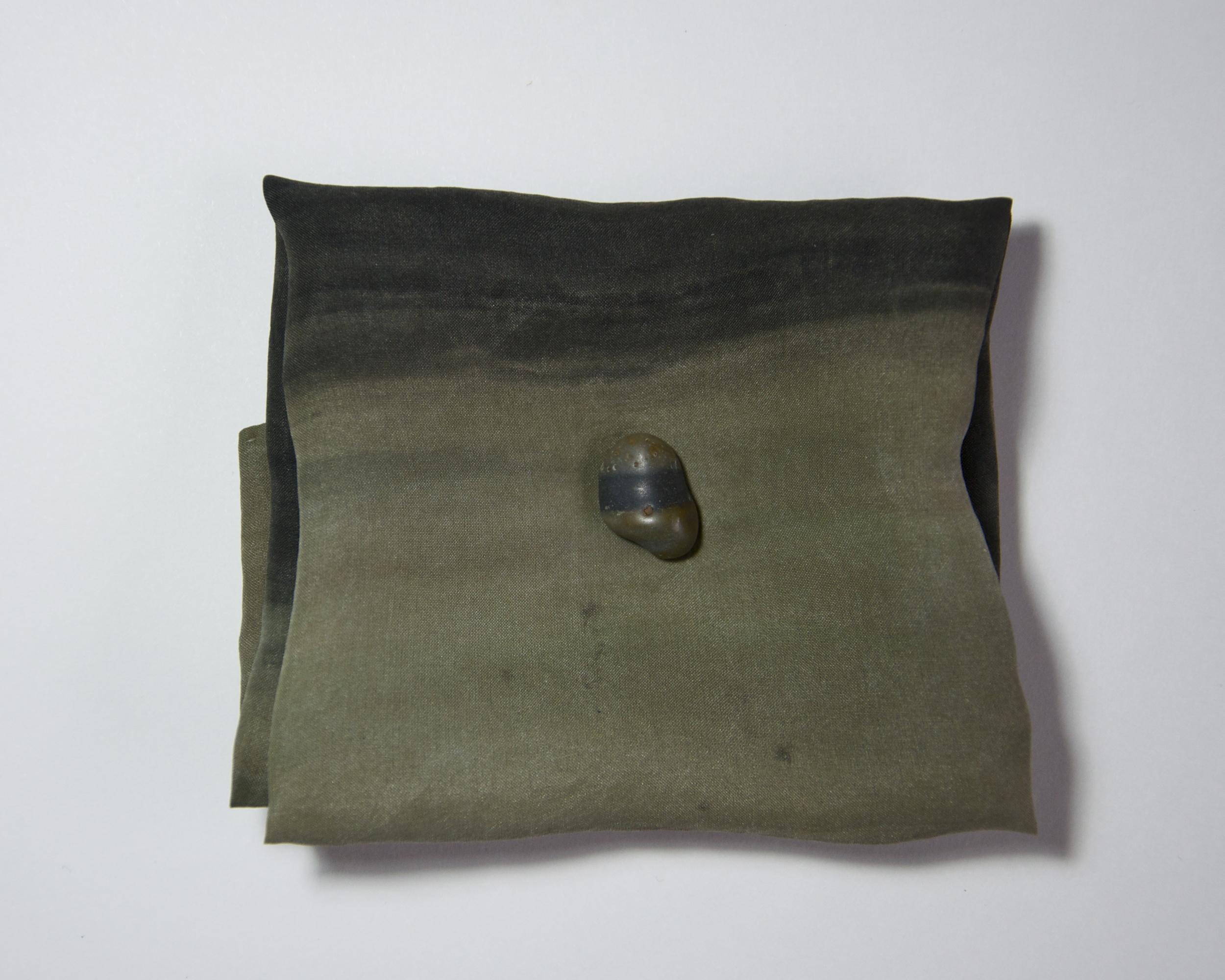 """""""Edmond"""" / Ashley Opperman / acrylic on silk / 11' x 11'"""