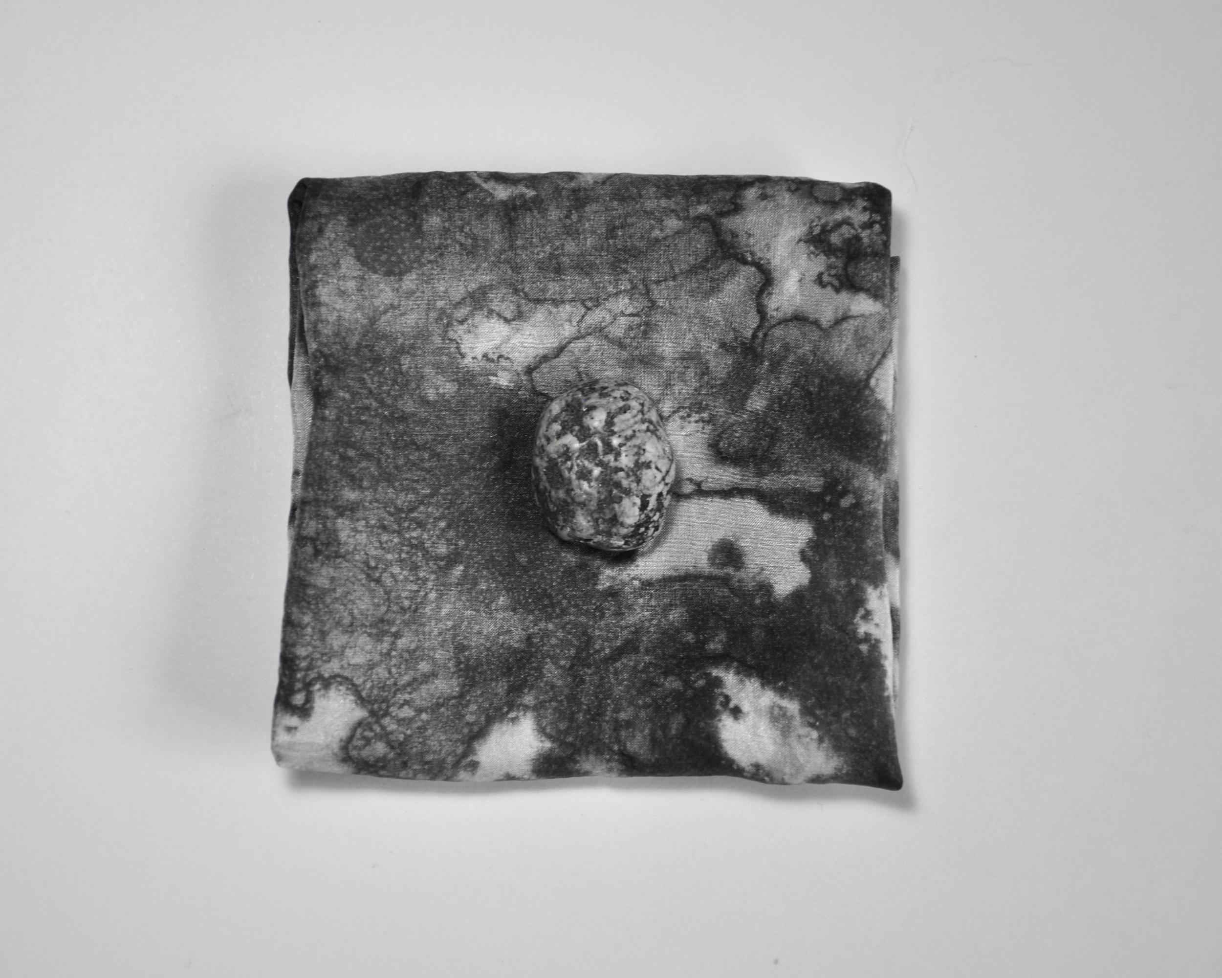 """""""Gust"""" / Ashley Opperman / acrylic on silk / 11' x 11'"""