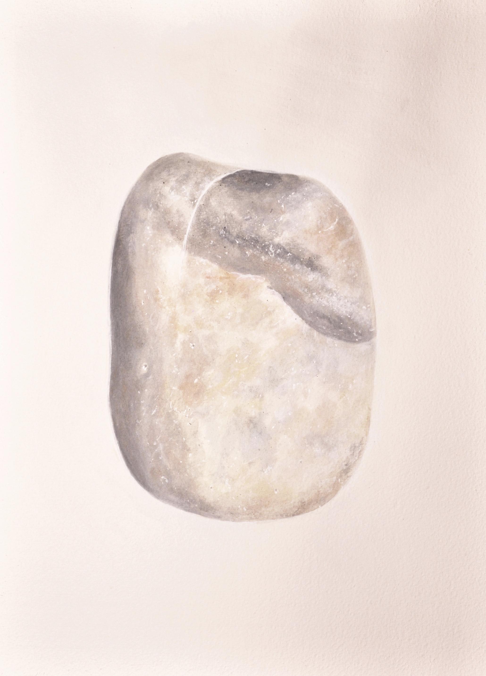 """Dina"" / Ashley Opperman / acrylic on paper / 15"" x 11"""