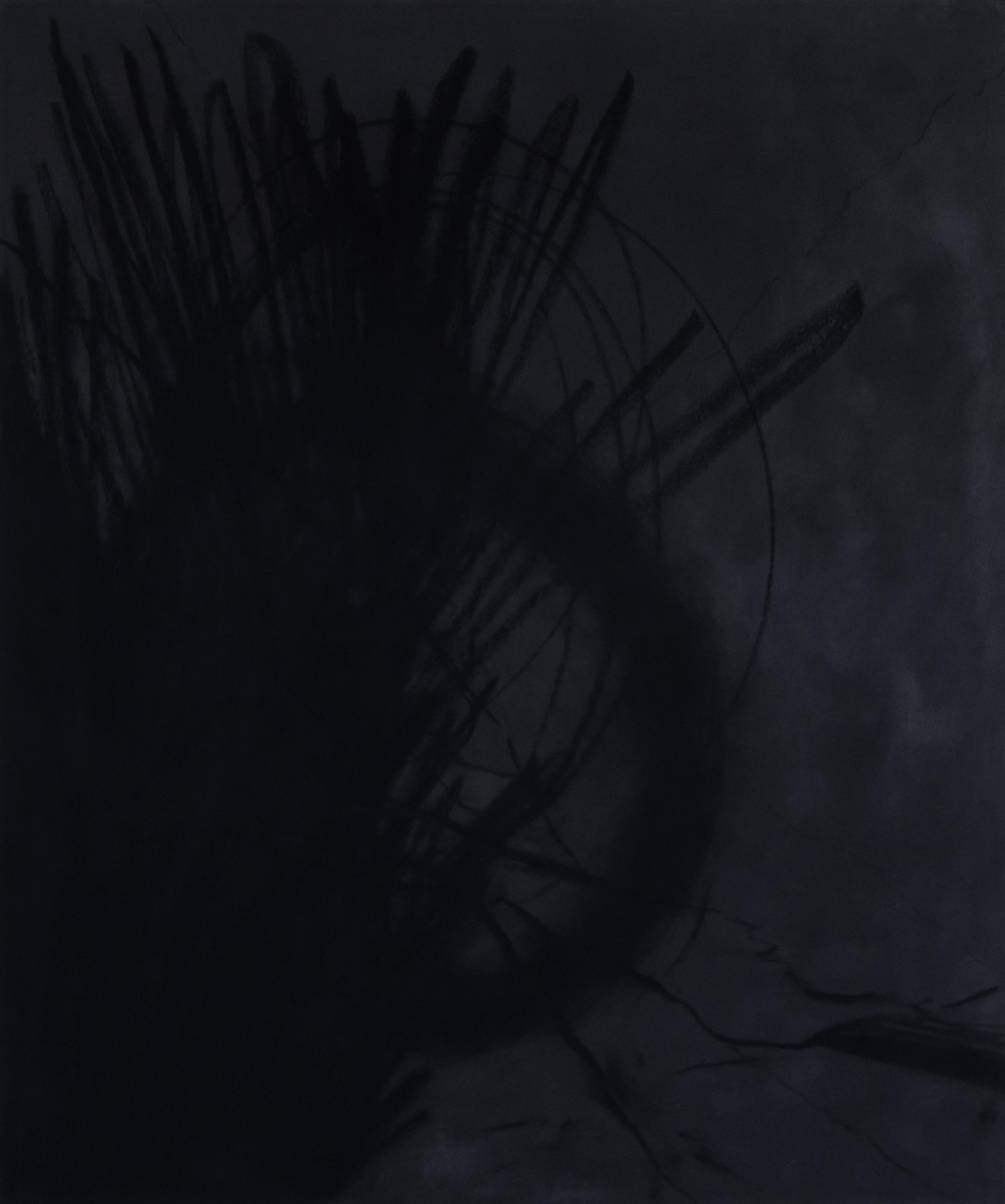"HONEST PAINTING 04 / Mixed media on canvas / 30""x36"" / Ashley Opperman / 2019"