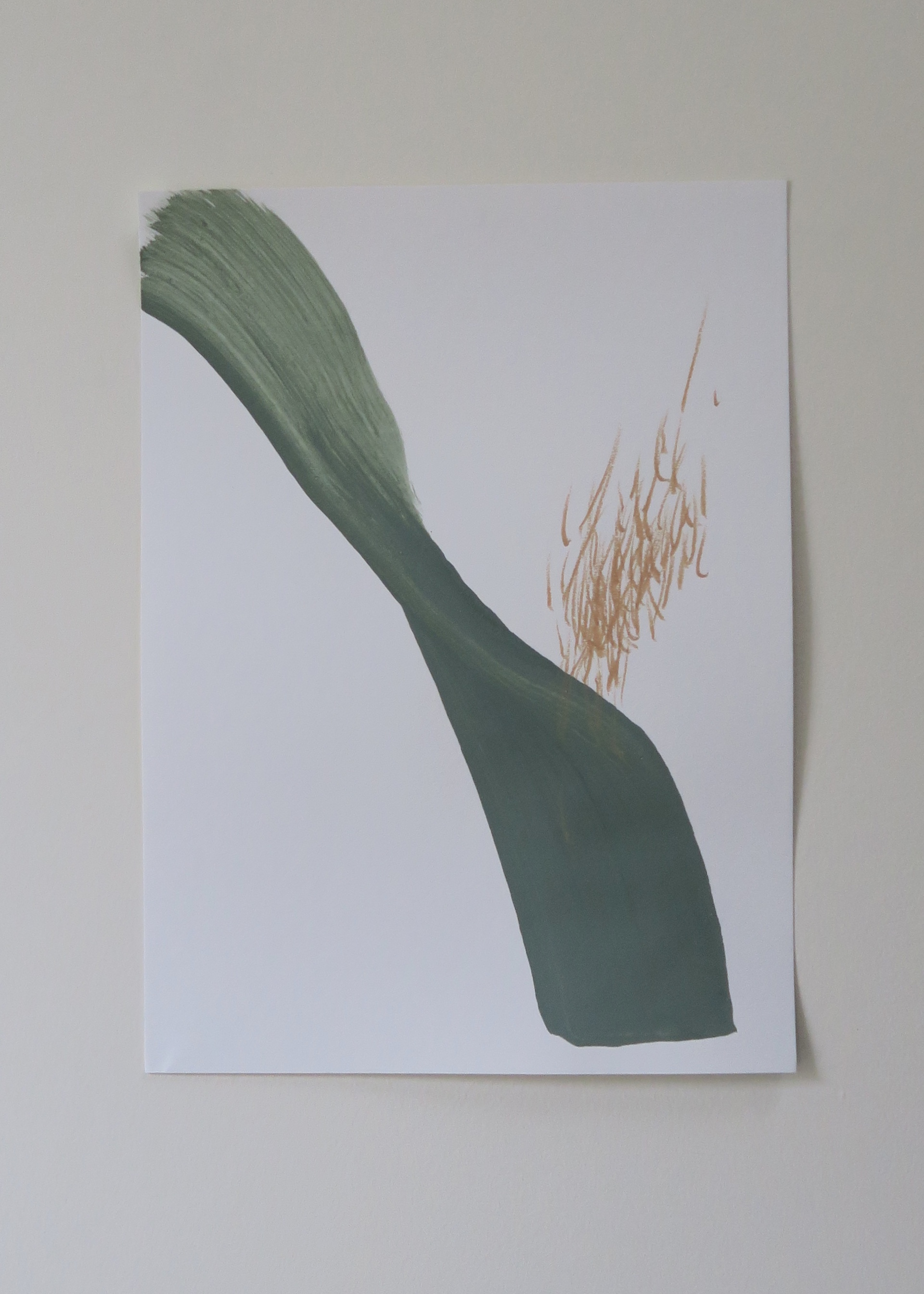 PAMPAS / Mixed media on paper / 11x15in / Ashley Opperman / 2019