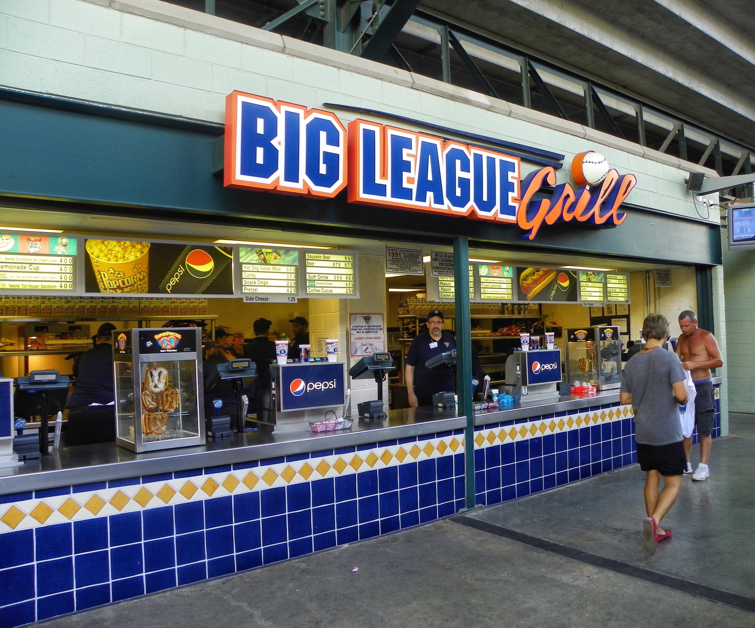 Big League Grill? How boring and generic can you get.