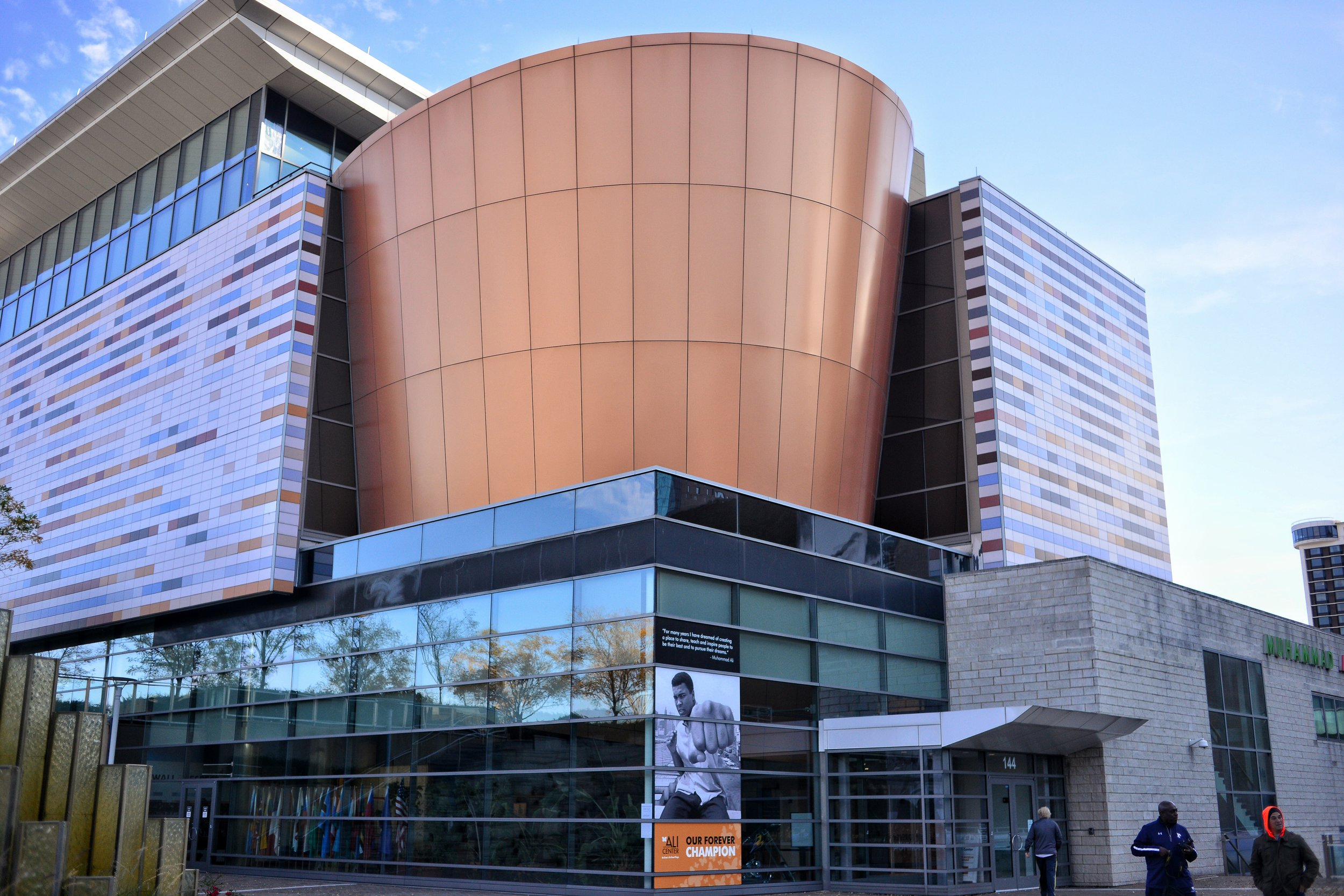 The Muhammad Ali Center In Louisville, Kentucky is a museum dedicated solely to the life and career of Muhammed Ali.