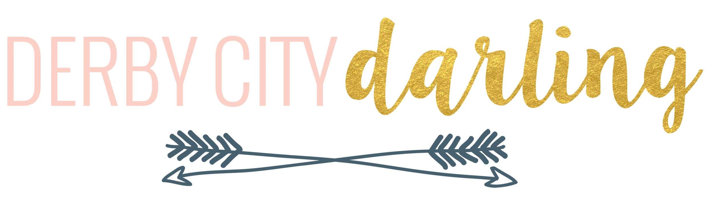 Derby City Darling logo design