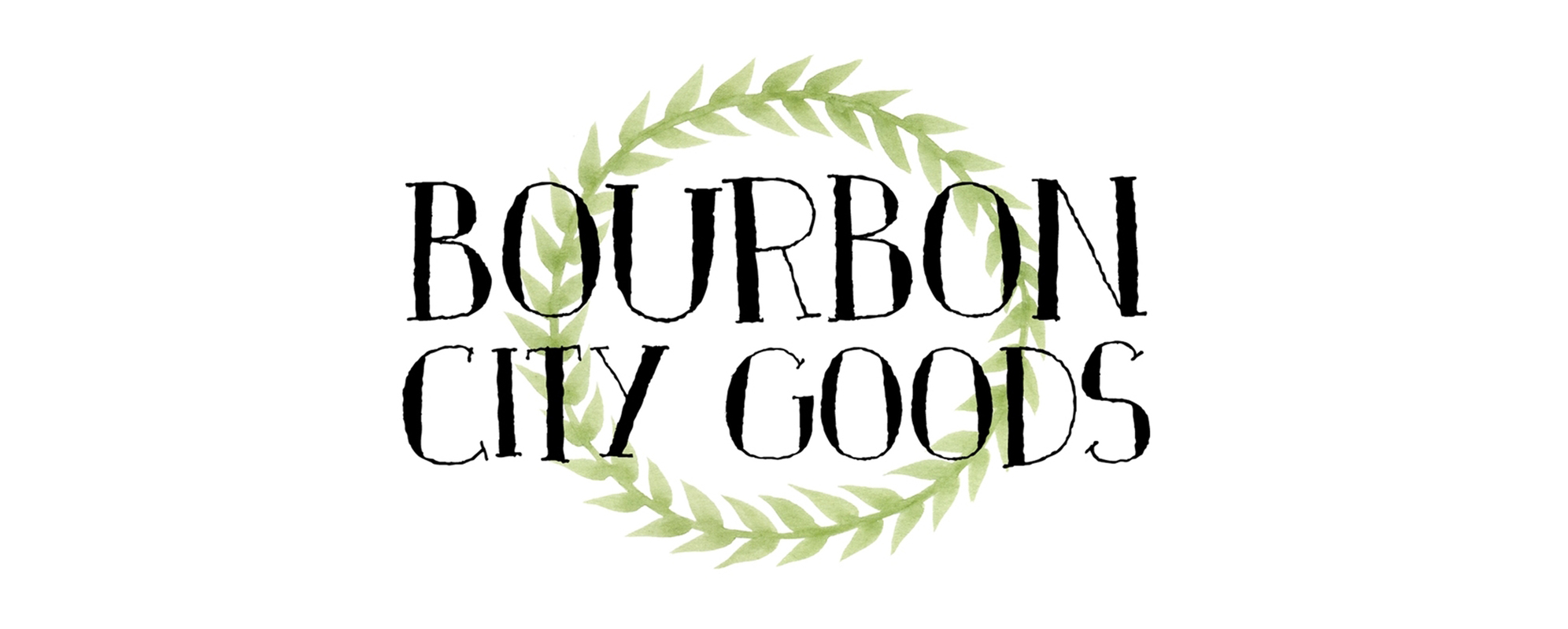 Bourbon City Goods Logo Design