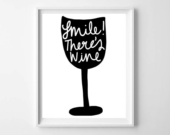 Smile!  There's Wine
