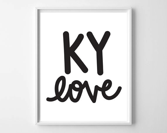 KY Love Printable by Chelcey Tate for WhatThePrint