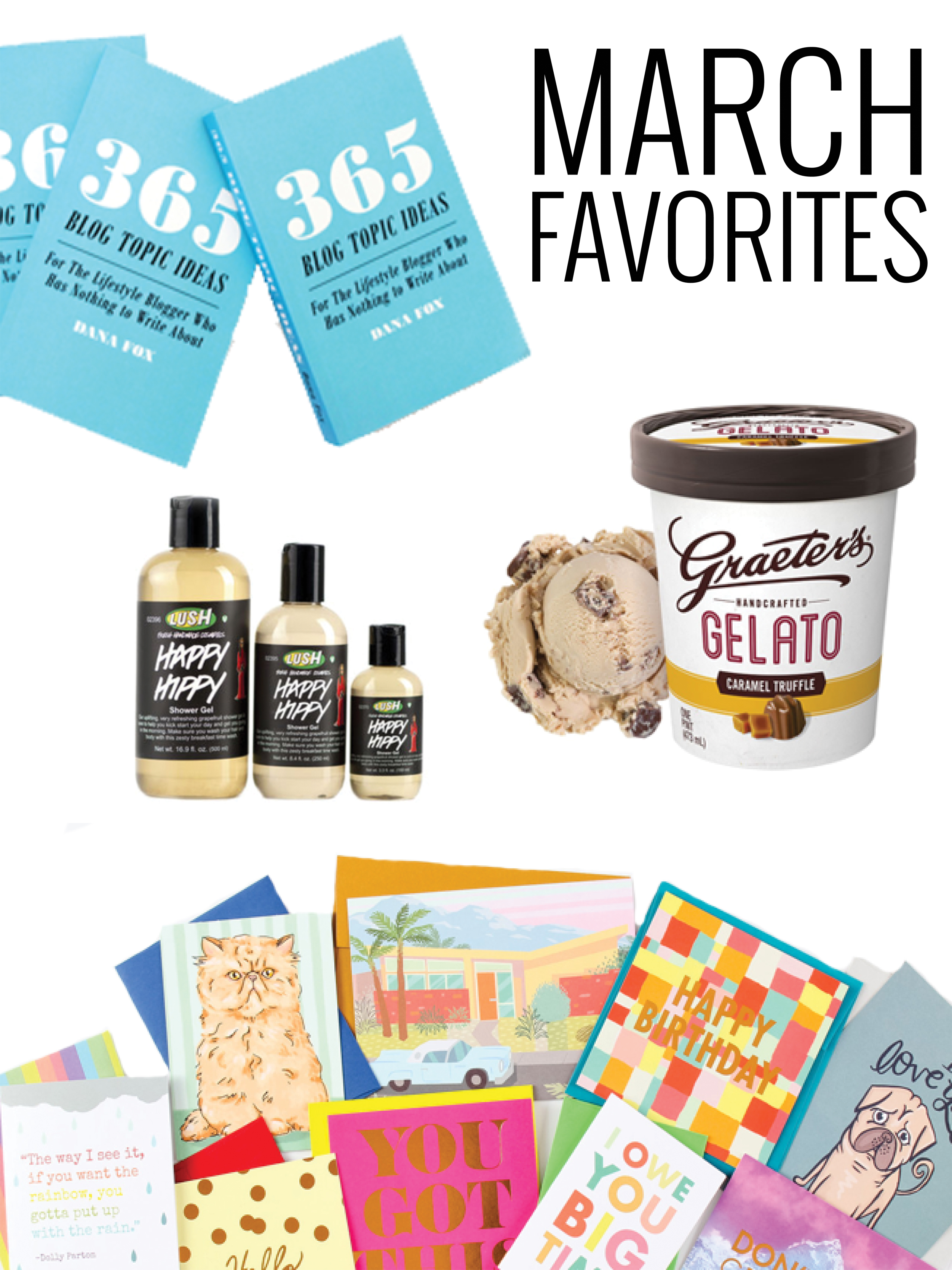 March Beauty + Lifestyle Favorites www.chelceytate.com