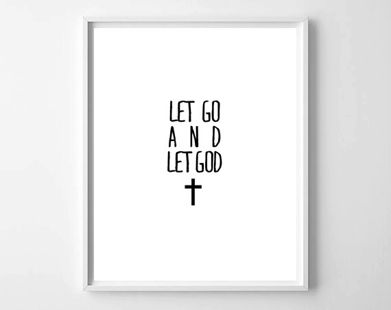 Let Go & Let God by chelceytate.com