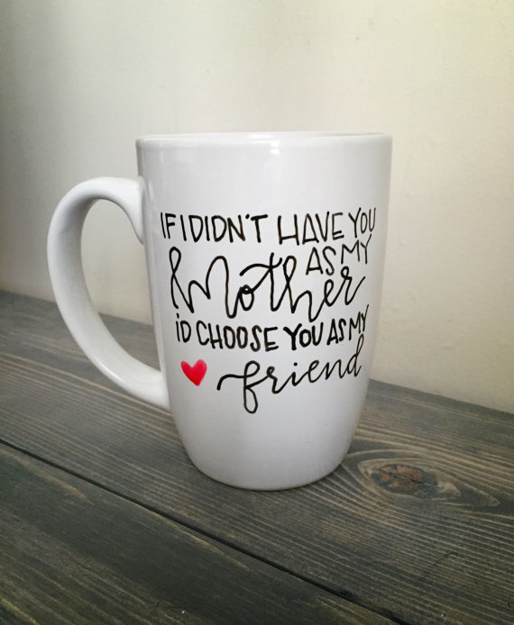 Hand Lettered Mug by KellyCastleCreations