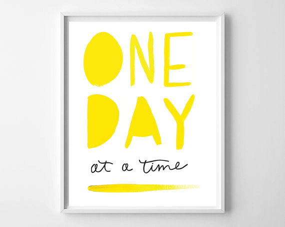 One Day At A Time | Fresh Off The Press! www.chelceytate.com
