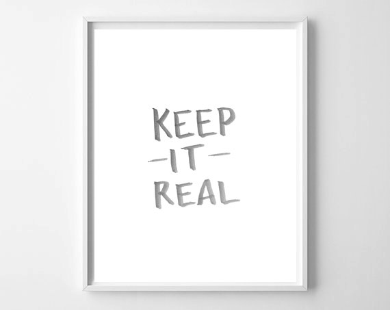 Keep It Real on WhatThePrint by Chelcey Tate
