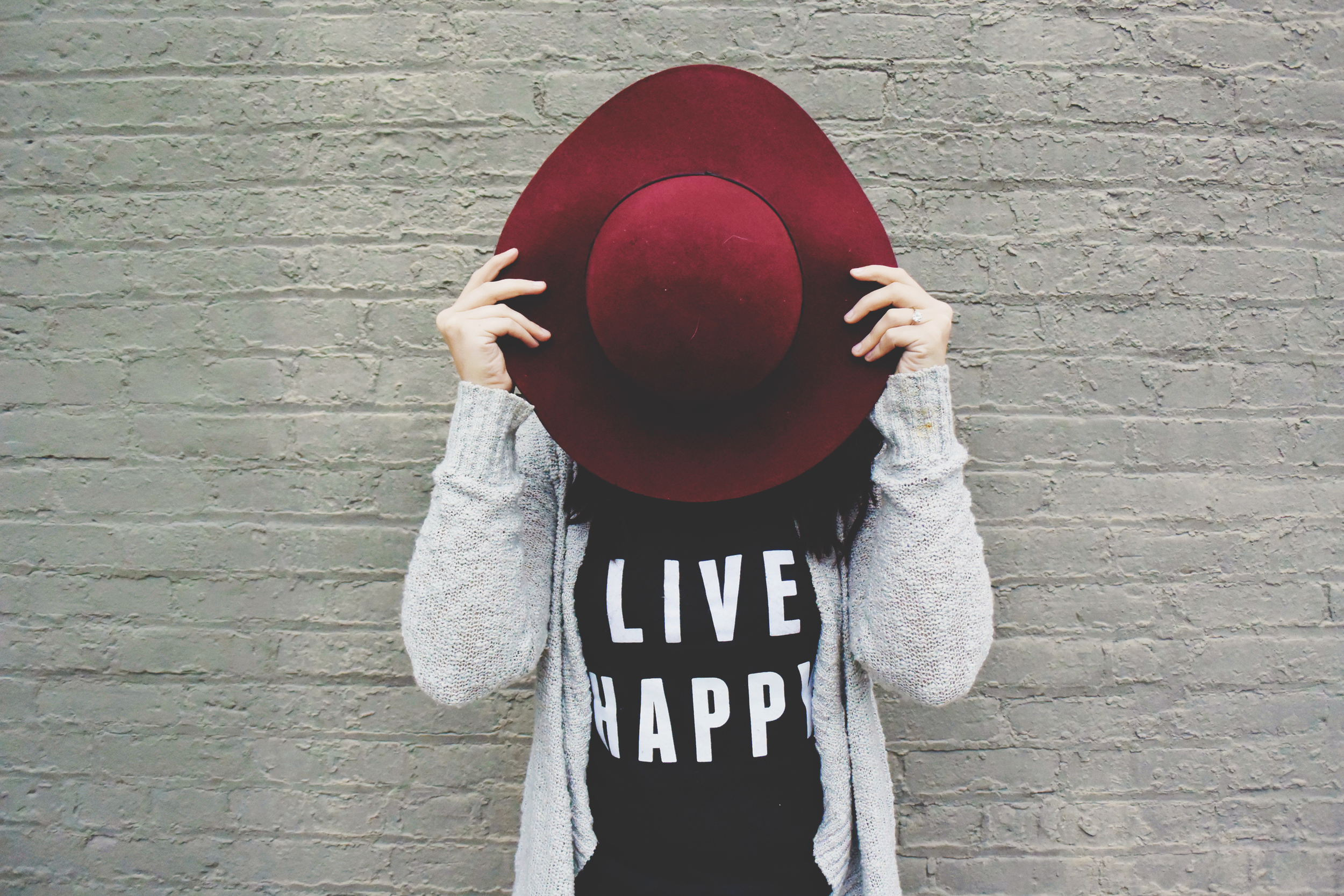 Live Happy t-shirt from chelceytate.com