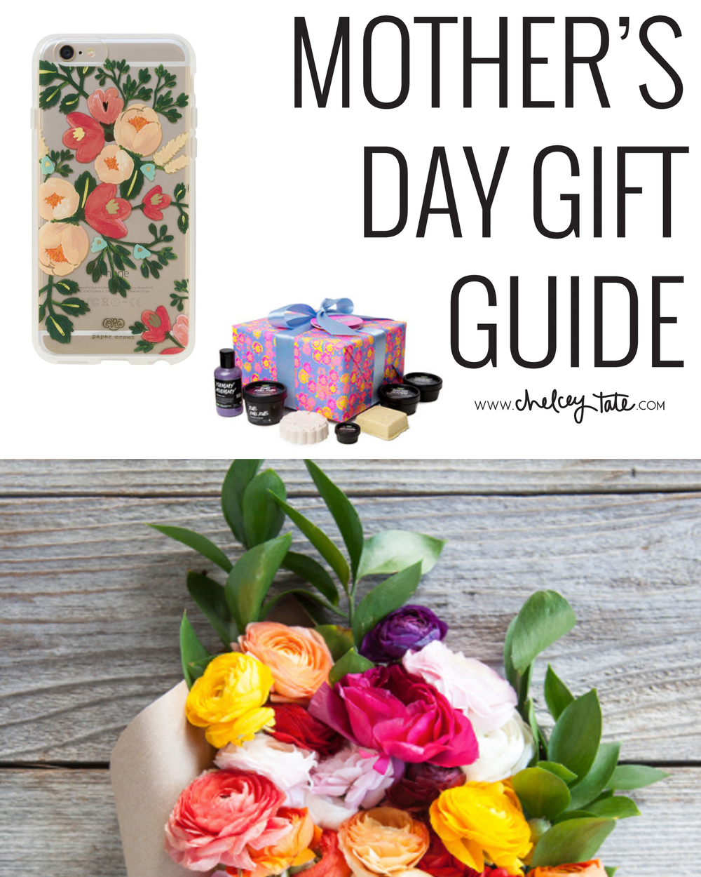Mother's Day Gift Guide by Chelcey Tate on chelceytate.com