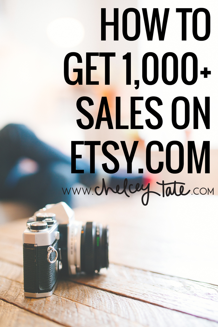 How To Get 1,000+ Sales On Easy www.chelceytate.com