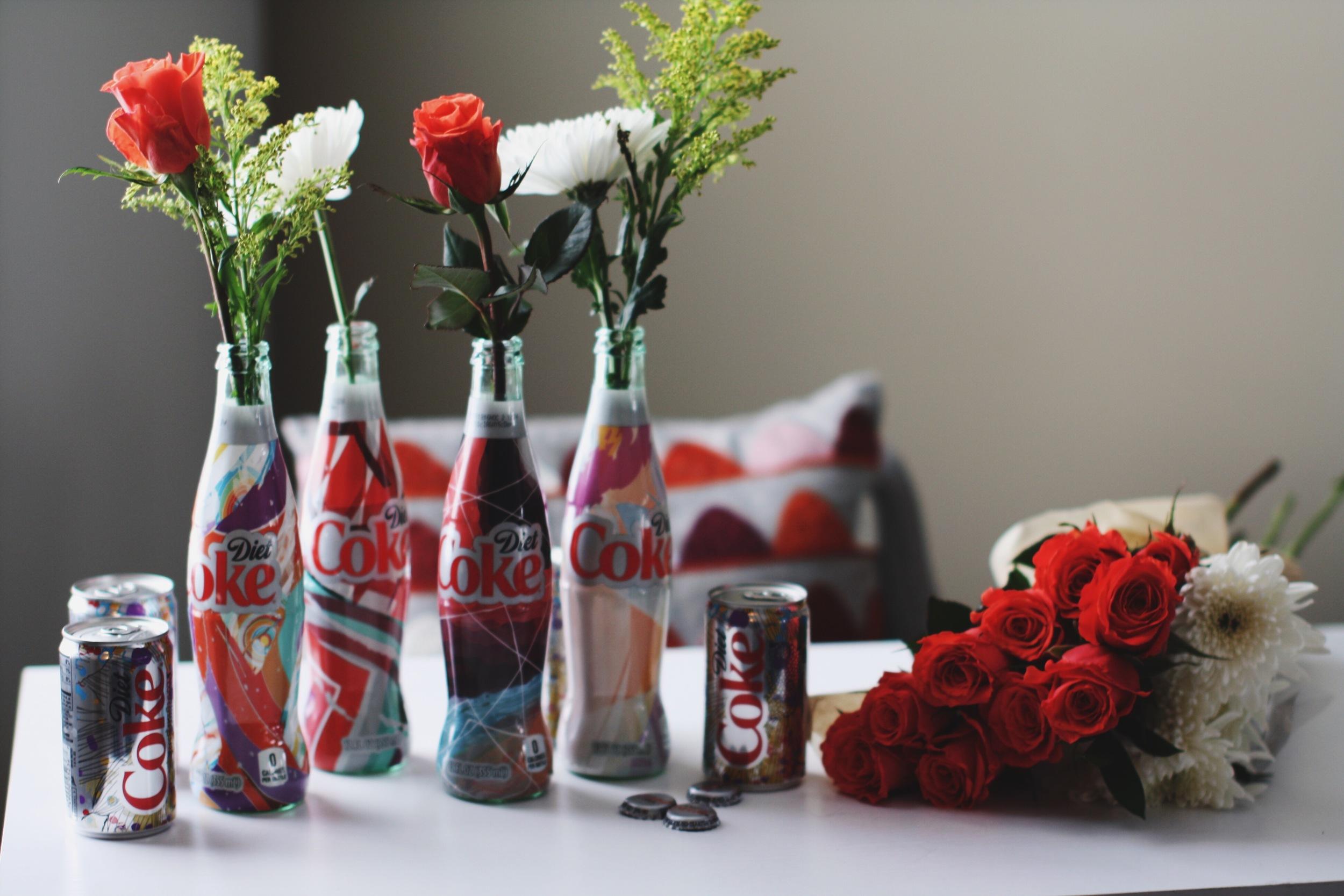 Fresh Blooms + Diet Coke www.chelceytate.com