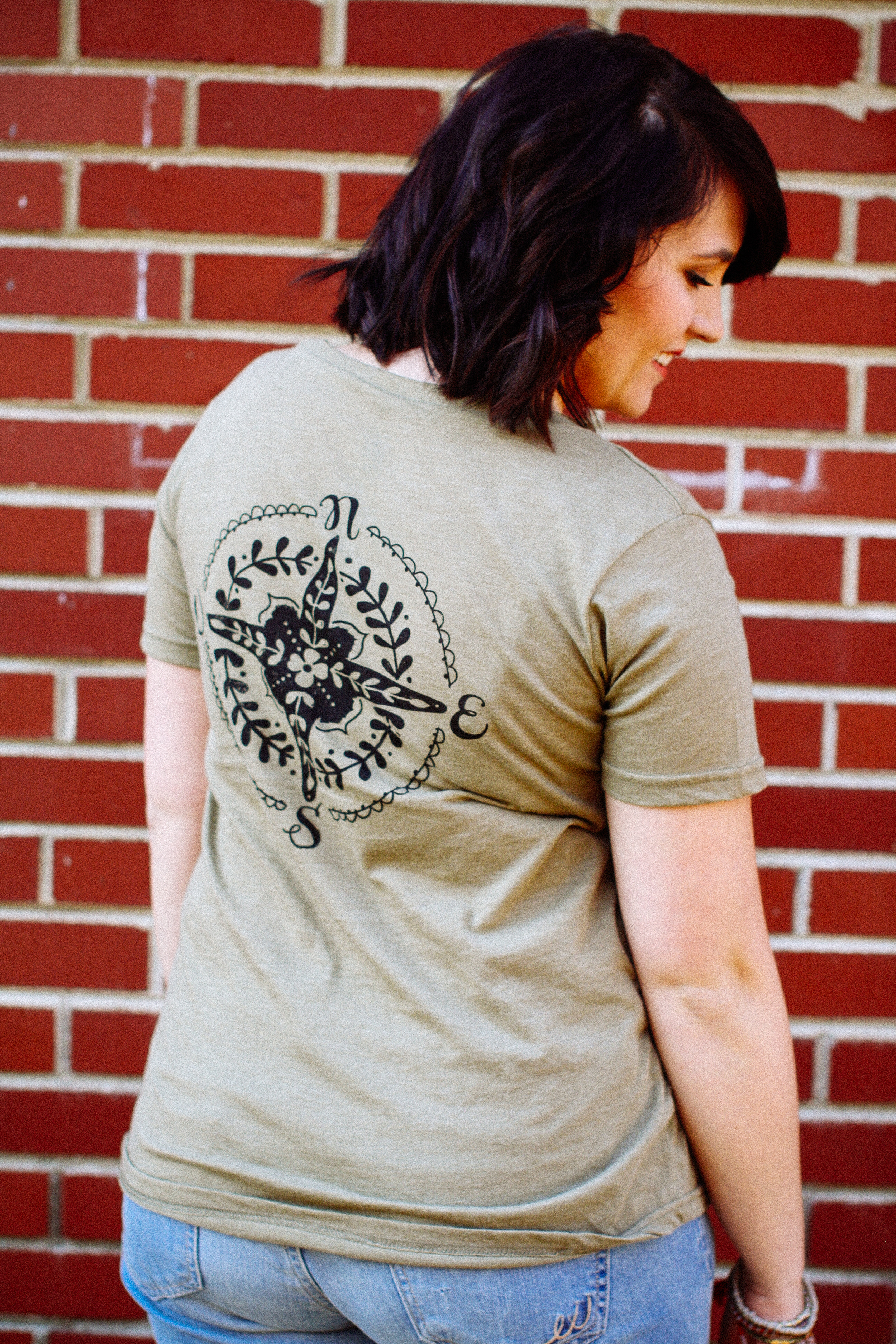 Follow Your Heart Natural Life Tee from Altar'd State via www.chelceytate.com