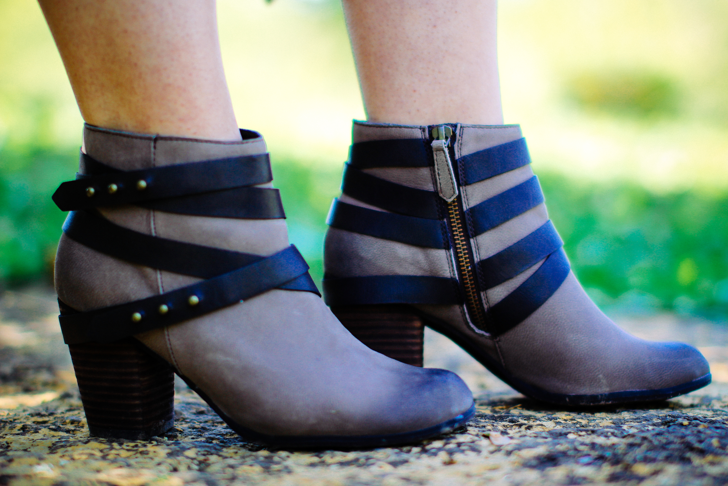 Spring Style - Nordstrom Booties via www.chelceytate.com