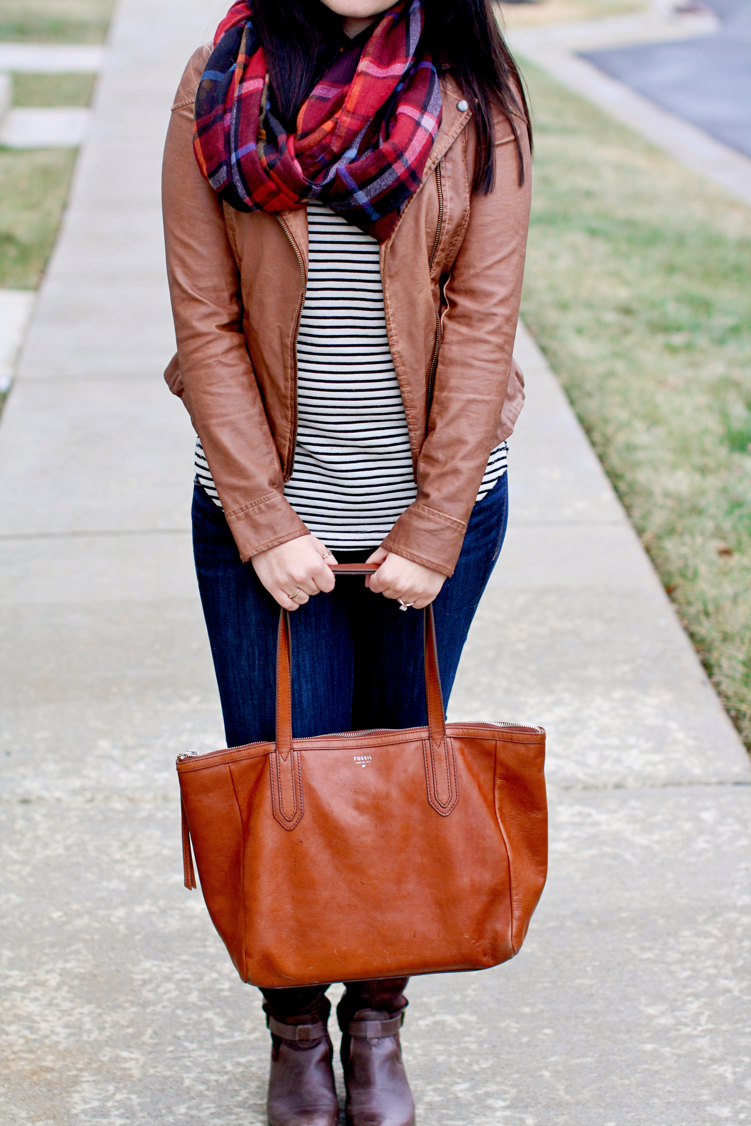 6 Cozy Fall Outfits To Wear Right Now via chelceytate.com