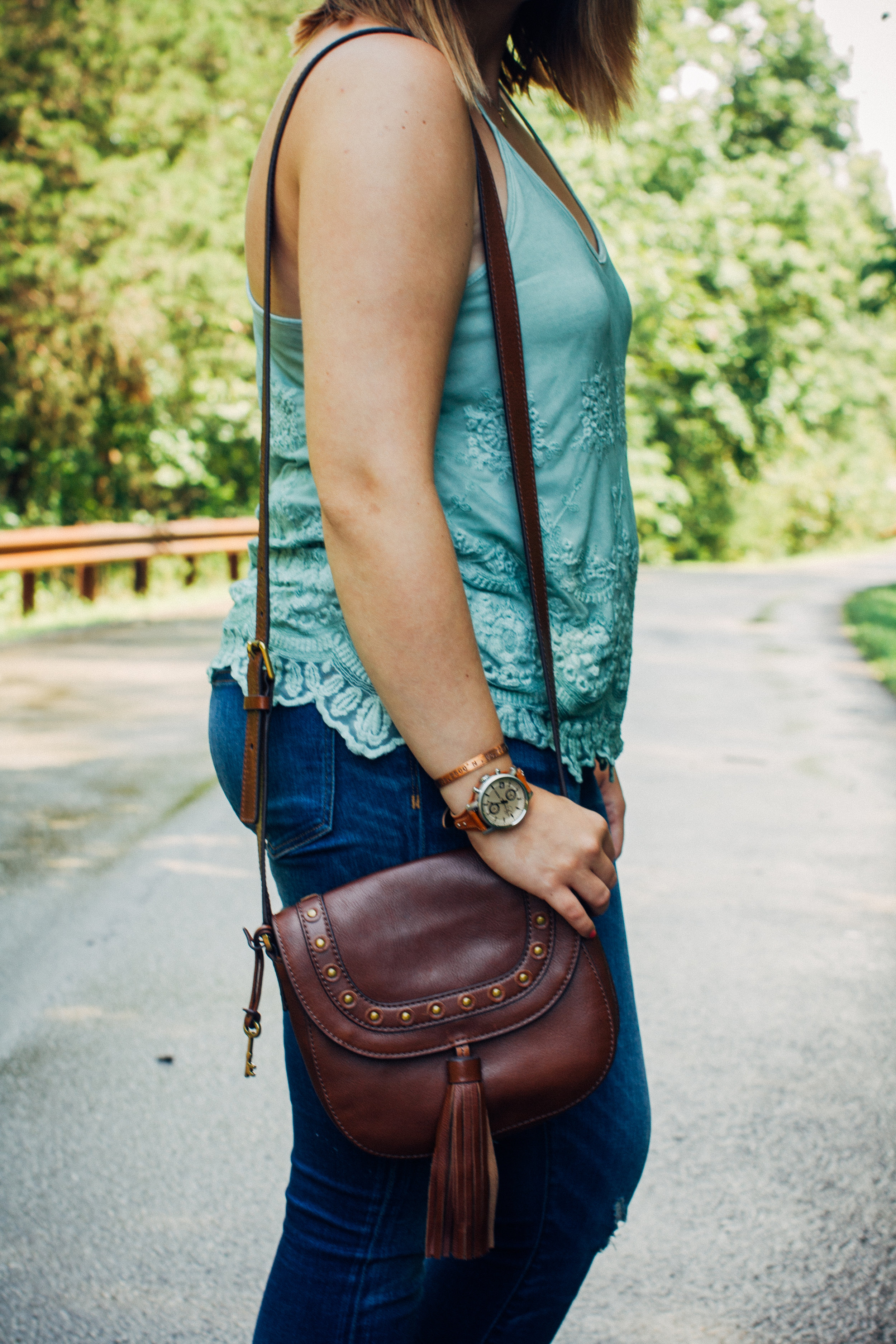 #CampFossil Boho Fall Style via chelceytate.com @fossil, @madewell, @forever21, @target @urbanoutfitters