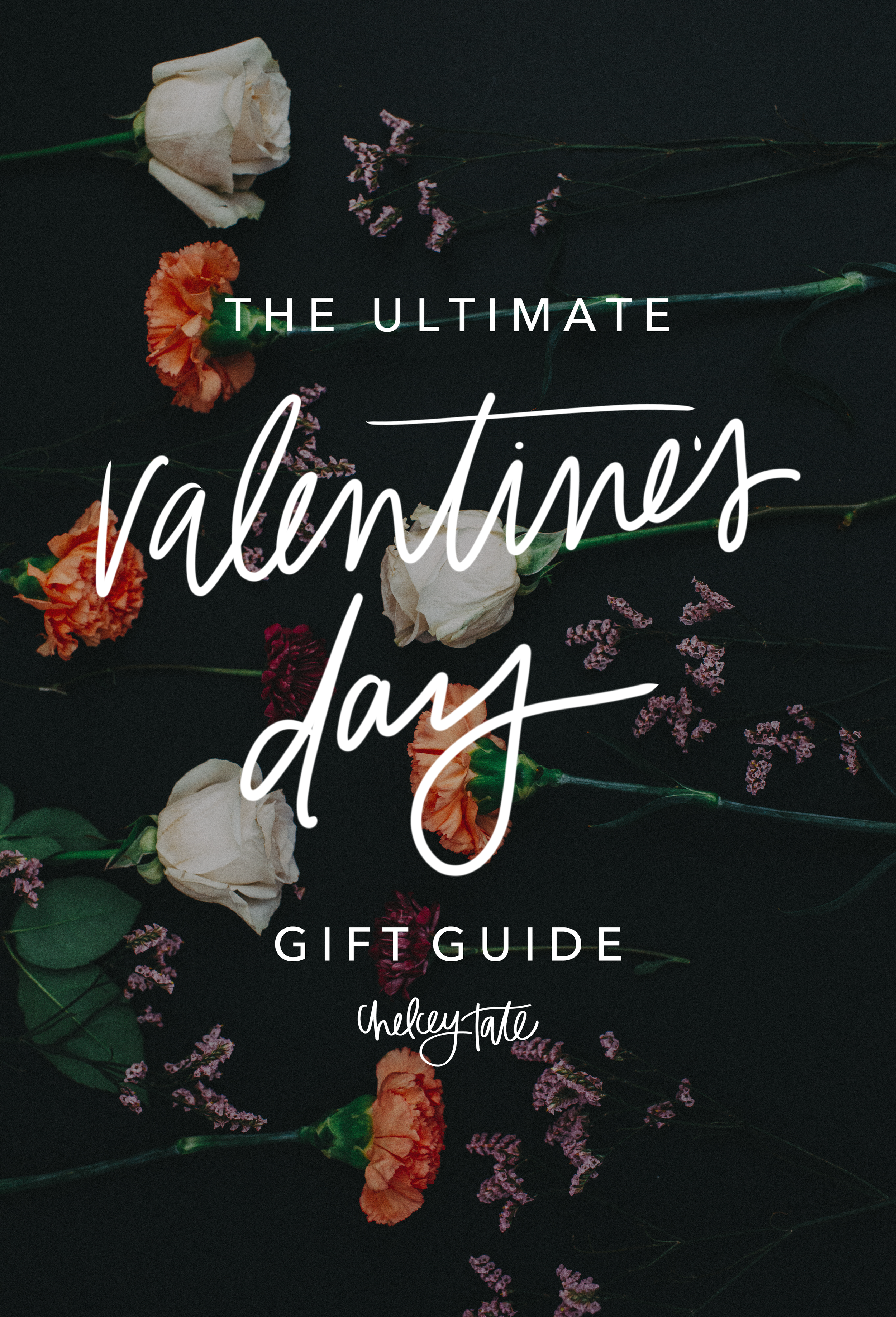 The Ultimate Valentine's Day Gift Guide via chelceytate.com